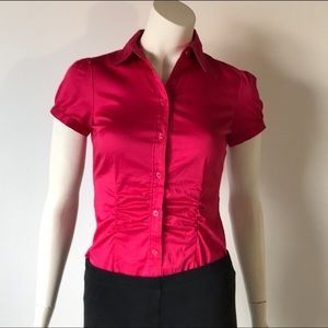 The Limited Essential Shirt Dark Hot Pink Top